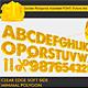 3D Golden Polygonal Alphabet (39 PCS) - 3DOcean Item for Sale