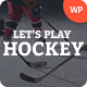 Let's Play | Hockey School & Winter Sports WordPress Theme - ThemeForest Item for Sale