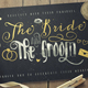 Just Married wedding lettering font - GraphicRiver Item for Sale