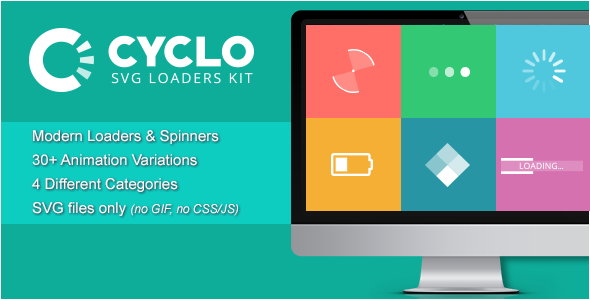 Cyclo - SVG Loaders Kit