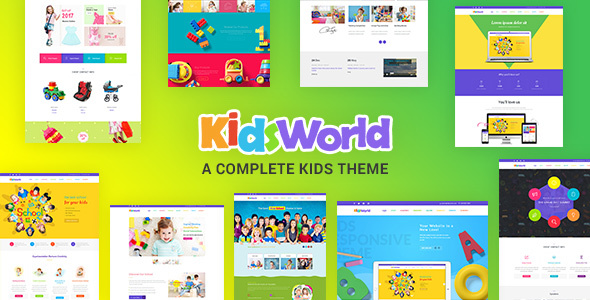 Kids Heaven - Children WordPress