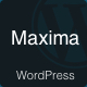 Maxima - Minimal Blog & Magazine WordPress Theme - ThemeForest Item for Sale