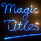 Magic Titles - VideoHive Item for Sale
