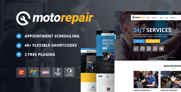 Motorepair - Theme for Car Mechanics