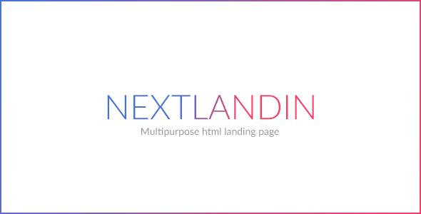 NEXT - MULTIPURPOSE LANDING PAGE