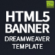 HTML5 Banner Dreamweaver Bundle Template - CodeCanyon Item for Sale