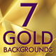 Gold abstract backgrounds - VideoHive Item for Sale