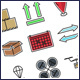 Logistics Icons Set - GraphicRiver Item for Sale