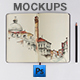 Photorealistic Sketch Book Mockups - GraphicRiver Item for Sale