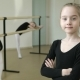 Portrait of a Young Ballerina in the Background Ballet Dancers - VideoHive Item for Sale