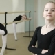 Young Ballerina Looking at Camera and Smiling - VideoHive Item for Sale