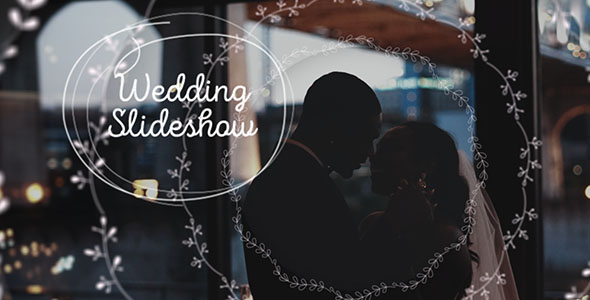 Wedding Slideshow/ Family Inspiring/ Romantic Mood/ Newly Married Couple/ Valentine Day/ love Story