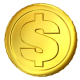 Golden Coins (Rotation, Spin) - VideoHive Item for Sale