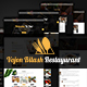 Vojon Bilash Restaurant HTML5 Template - ThemeForest Item for Sale