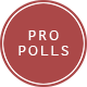 Pro Polls - PHP Poll Vote Script - CodeCanyon Item for Sale