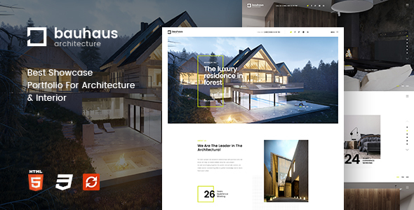 Bauhaus - Architecture & Interior Template