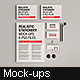 Realistic Stationery Mockup - GraphicRiver Item for Sale