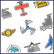 Aviation Icons Set - GraphicRiver Item for Sale