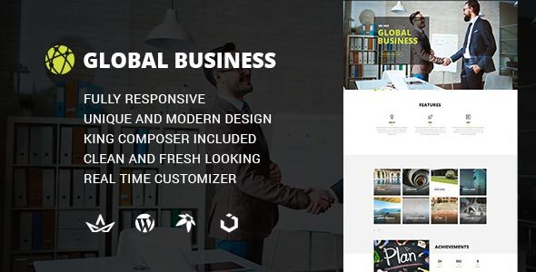 GB - Multipurpose Global Business WordPress Theme