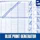 Architectural Blue Print Generator- Photo Template - GraphicRiver Item for Sale
