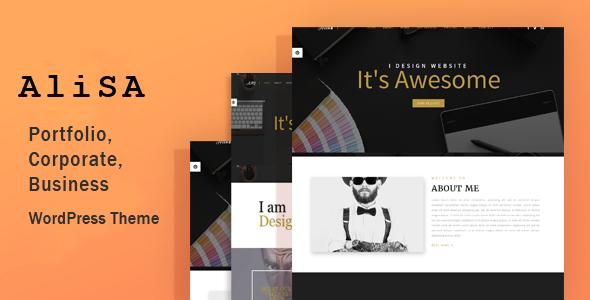Alisa - Responsive WordPress Theme