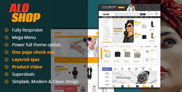 Alo Shop - Super Market Responsive Magento2 Theme