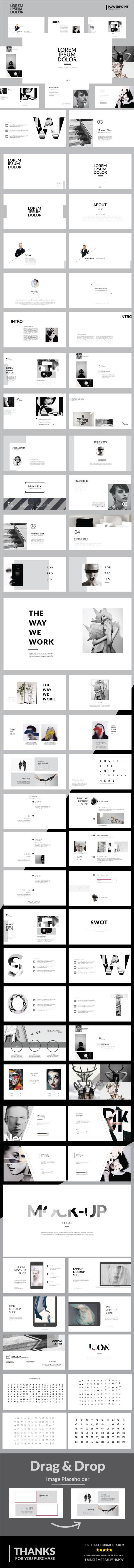 Lorem Ipsum Dolor - Multipurpose Powerpoint Template