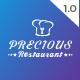 Precious Restaurant Template - ThemeForest Item for Sale
