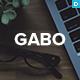 Gabo - Minimalist & Full-Screen WordPress theme - ThemeForest Item for Sale