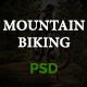 Mountain Biking PSD Template - ThemeForest Item for Sale