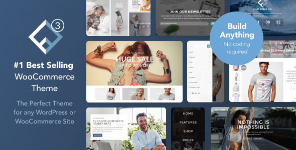 Download Flatsome | Multi-Purpose Responsive WooCommerce Theme nulled themeforest poster