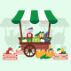 Vegetable Stand - GraphicRiver Item for Sale