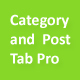 Category and Post Tab Pro - CodeCanyon Item for Sale