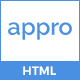 Appro – App Landing Page HTML Template - ThemeForest Item for Sale