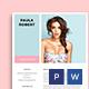 Media Kit Template - GraphicRiver Item for Sale
