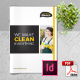 Cleaning Service Company Brochure - GraphicRiver Item for Sale