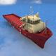 Supply Vessel - 3DOcean Item for Sale