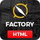 Factory Plus - Industry and Construction HTML Template - ThemeForest Item for Sale