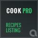 Cook Pro - Recipe Listing WordPress Plugin - CodeCanyon Item for Sale