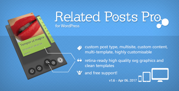 Related Posts Pro for WordPress - Related Content Plugin Download