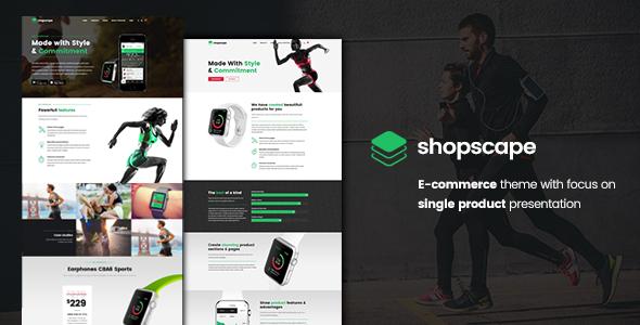 Shopscape - Single Product Presentation