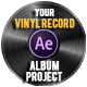 Vinyl Record Logo - VideoHive Item for Sale