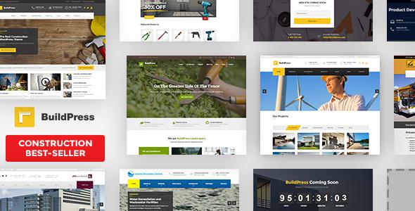 BuildPress - Multi-purpose Construction and Landscape WP Theme