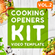 Cooking Intros / Openers - vol 2 - VideoHive Item for Sale