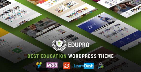 EduPro - Professional WordPress Education Theme