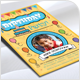Kids Birthday Party Flyer - Volume 03 - GraphicRiver Item for Sale