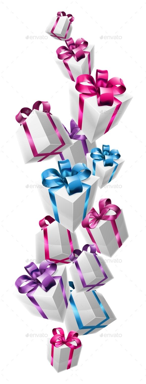 Falling Gifts Design