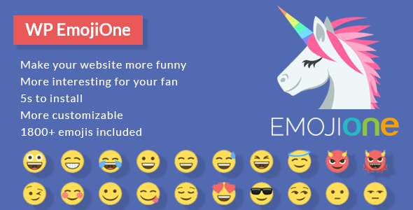 EmojiOne for WordPress