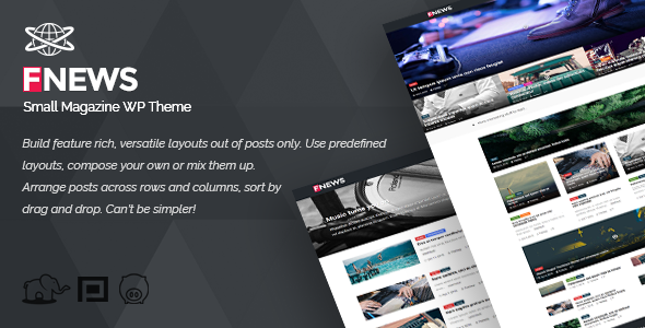 Small Magazine WP Theme