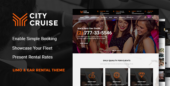 City Cruise - Limousine and Car Rental Theme